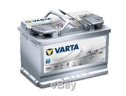Varta E39 Stop Start AGM Car Battery 12V 70Ah 760A Type 096 5 YEAR WARRANTY