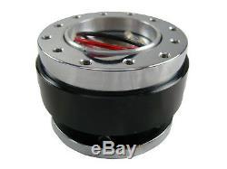 White Purple Quick Release TS Steering Wheel + Boss Kit for NISSAN 003