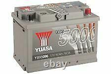 YUASA EA770 12v Type 067 096 Car Battery 4 Year Warranty YBX5096