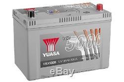 Yuasa YBX5335 12V Silver 335 Series Car Battery 95Ah 830A