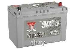 Yuasa YBX5335 Silver High Performance SMF Battery JP/KR JIS